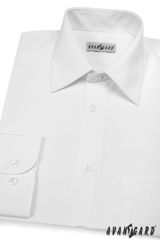 Avantgard pánská košile Klasik dlouhý rukáv 451-1 barva bílá
