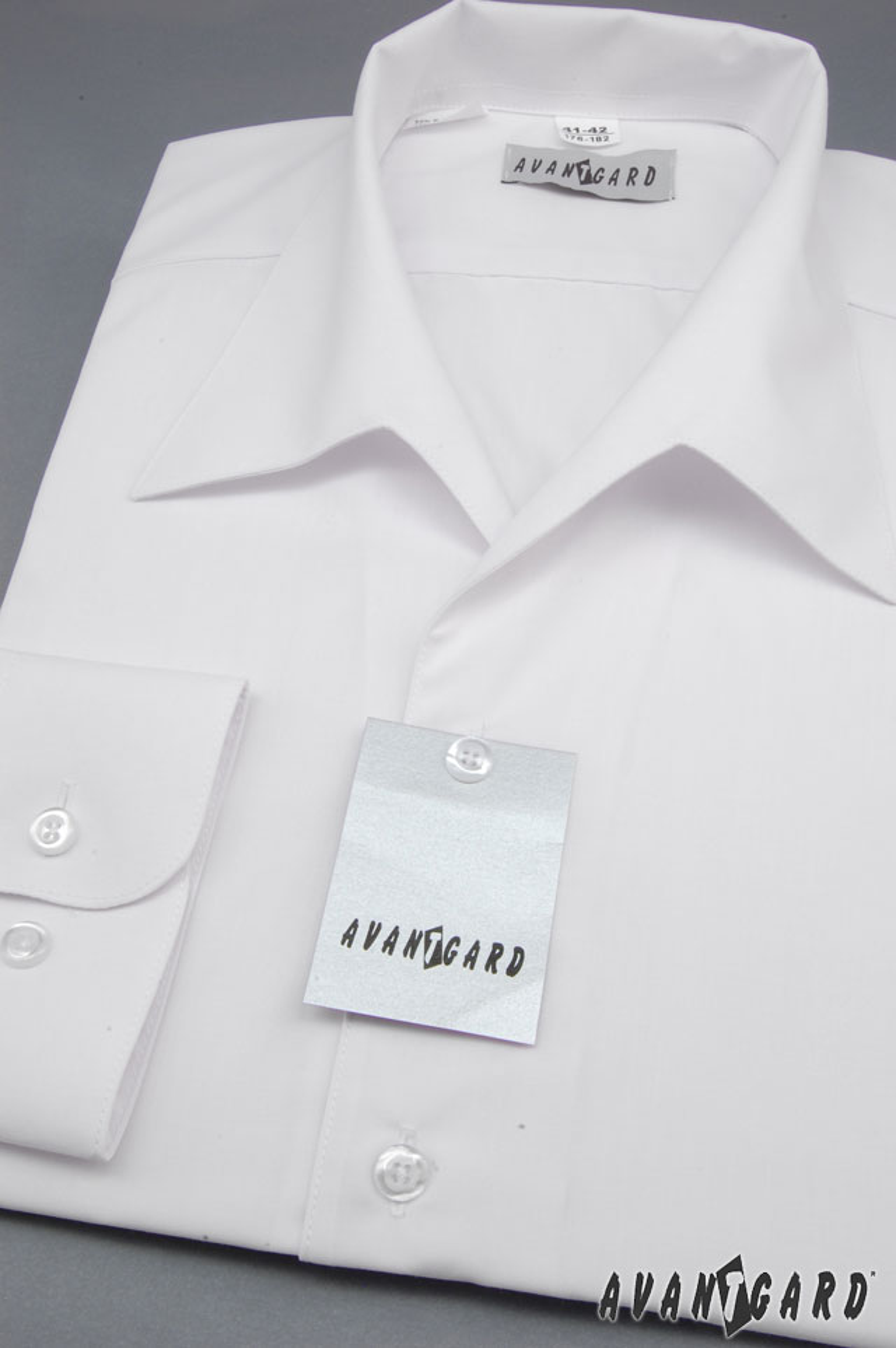 Avantgard pánská košile rozhalenka dlouhý rukáv 457-1 barva bílá efd4c7da6f