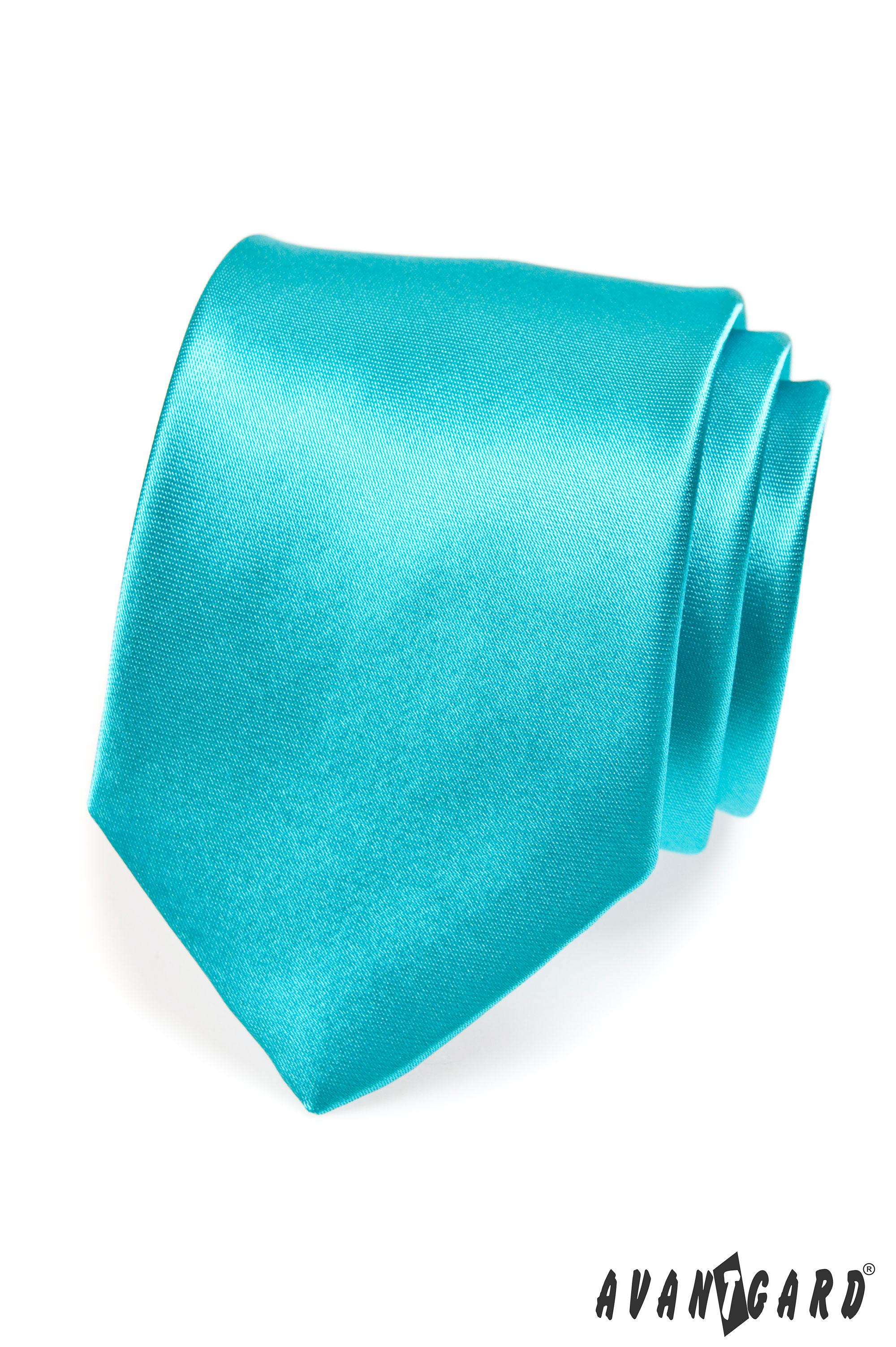 Avantgard kravata Klasik 741 tyrkysová