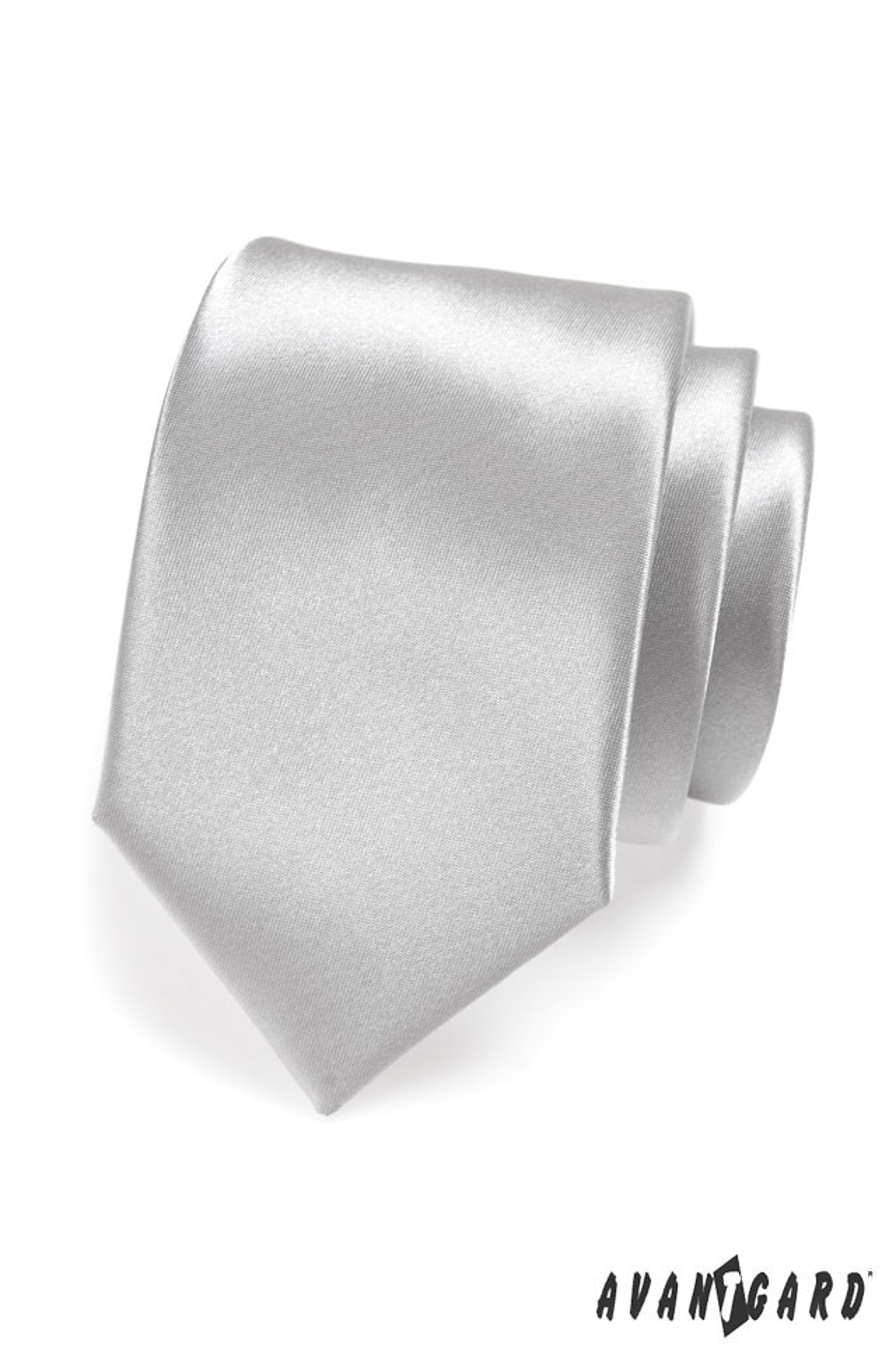 Avantgard kravata Lux 561 9021 Stříbrná