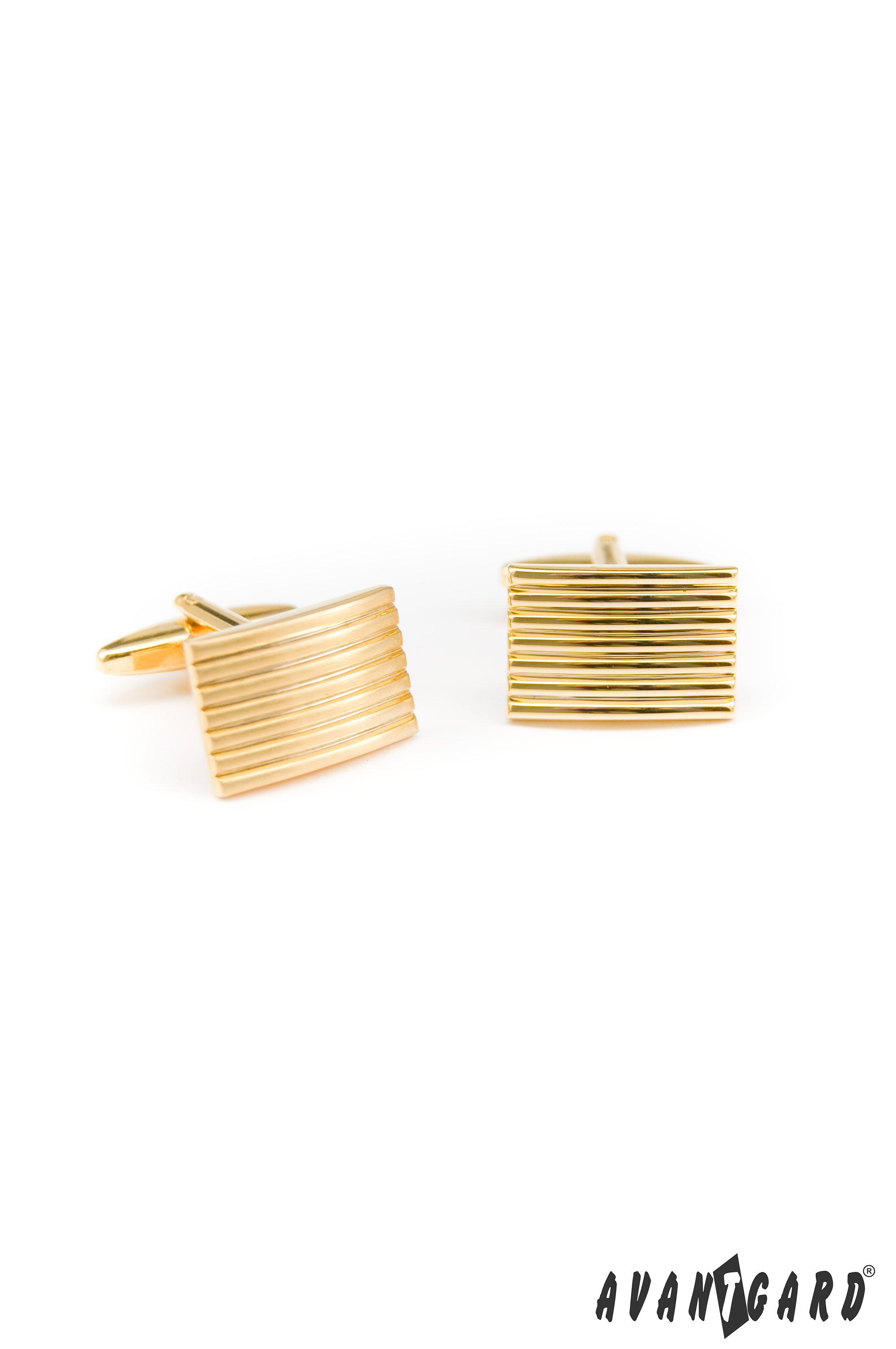 Avantgard manžetové knoflíky Premium 57310047 Zlatá lesk