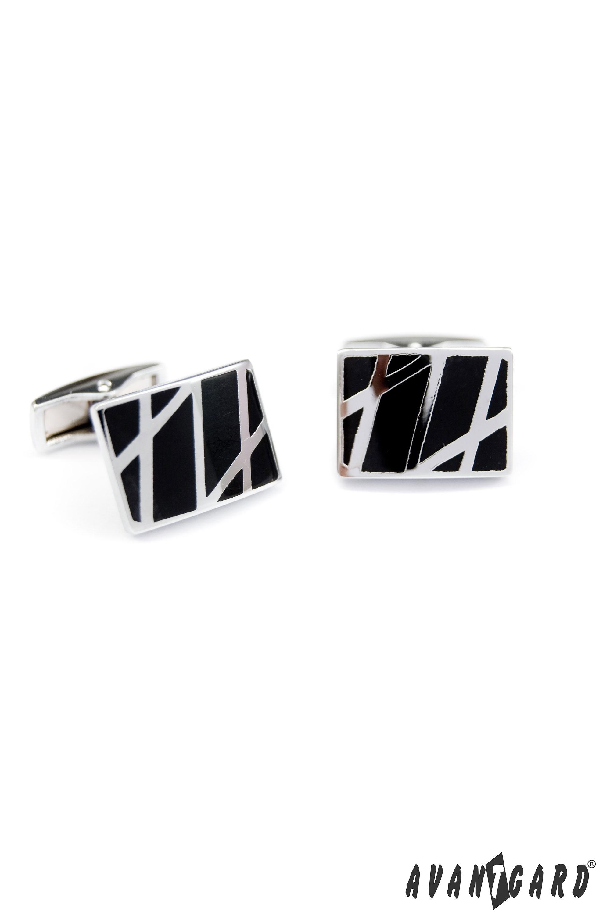 Avantgard manžetové knoflíky Premium 57320218 stříbrná lesk