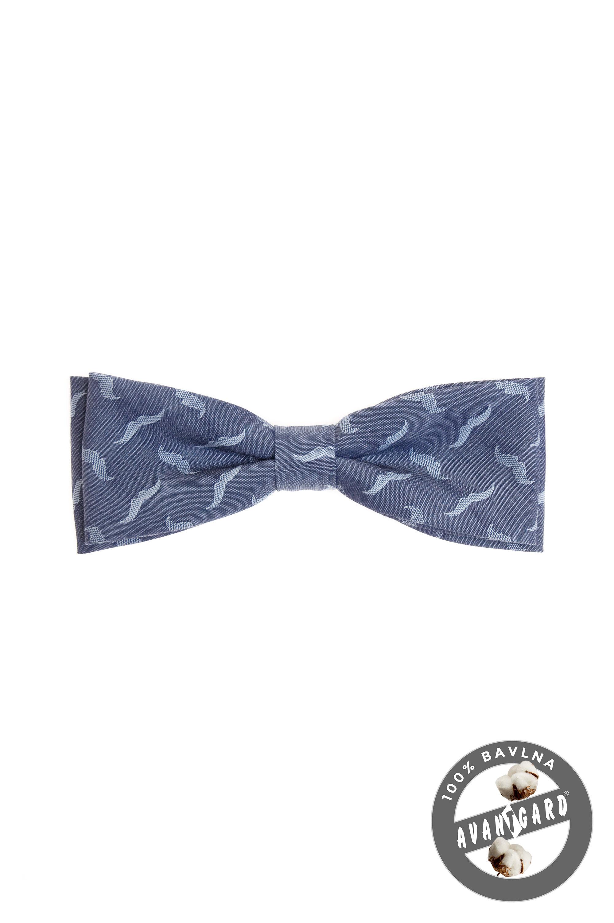 Avantgard pánský motýlek Klasik 576 5075 Modrá