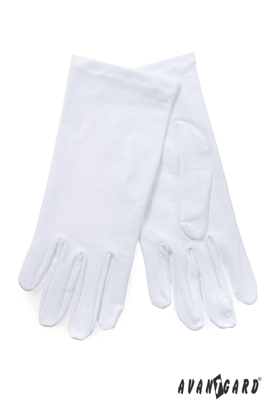 Avantgard pánské rukavičky 1 bílá