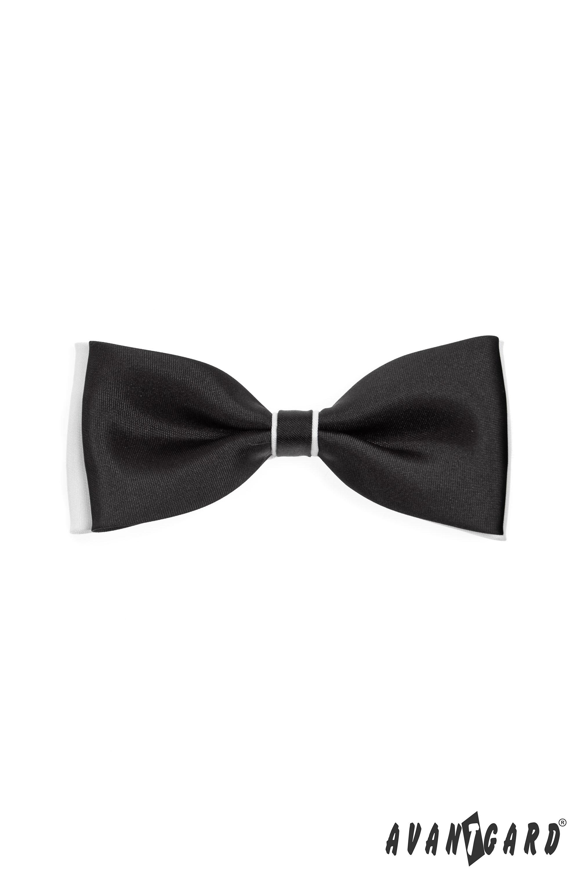 Avantgard Motýlek pánský 231 231 - černo-bílá
