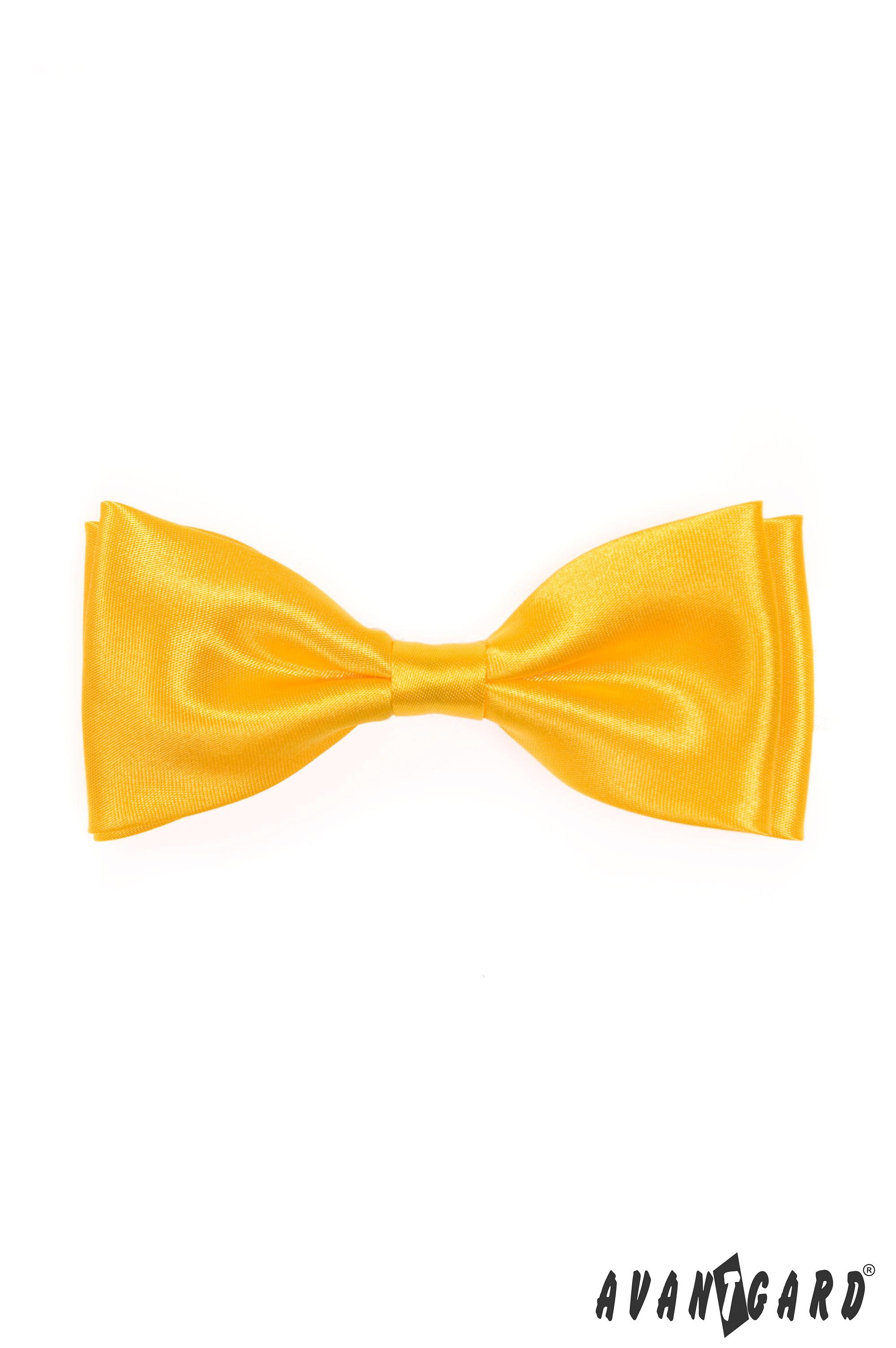 Avantgard Motýlek pánský 770 Žlutá