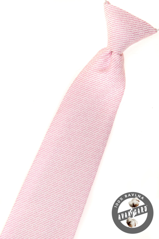 Avantgard Kravata chlapecká 5078 Růžová