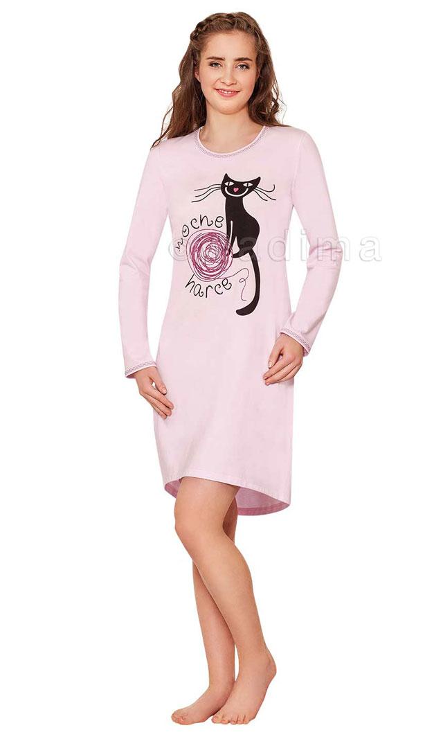 Dívčí noční košile Young Fashion Wadima 70448 146 - 176